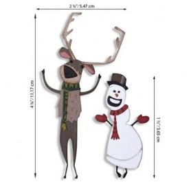 Sizzix Thinlits Die Set - Papercut Christmas 15PK  Tim Holtz