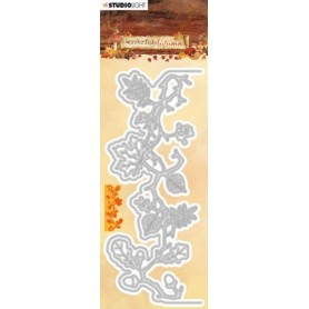 Studio Light Embossing Die 63x152mm Wonderful Autumn nr.313
