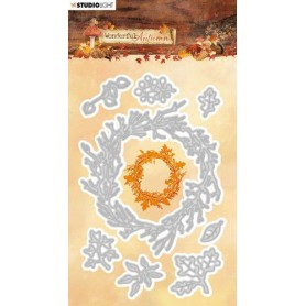 Studio Light Embossing Die 94x146mm Wonderful Autumn nr.312