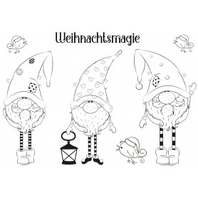 """Memories4you Stempel (A6)  """"Weihnachtsmagie"""""""