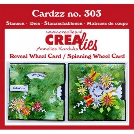 Crealies Cardzz Karte drehen  10,5 X 10,5 cm