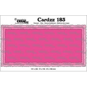 Crealies Cardzz Slimline C 100 x 205 mm
