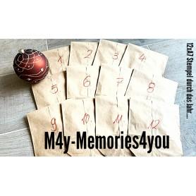TOP ANGEBOT Memories4you Jahreskalender Stempel & Stencils