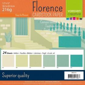 Florence • Cardstock multipack 30,5x30,5cm Erdtöne