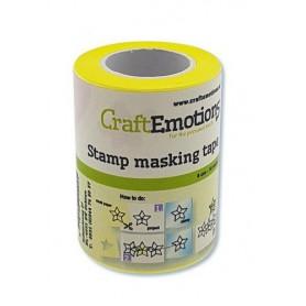 CraftEmotions Stamping Maskiertape 6 cm - 10 meter