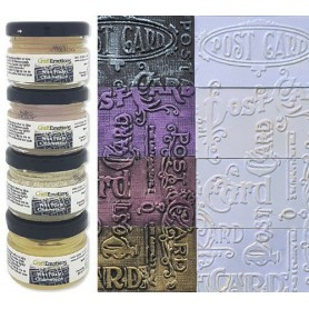 CraftEmotions Wax Paste chameleon 2 4x20 ml