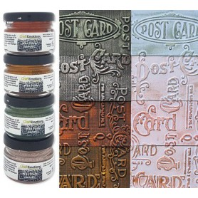 CraftEmotions Wax Paste metallic 2 4x20 ml