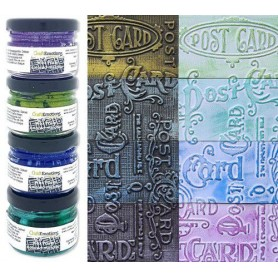 CraftEmotions Wax Paste Colored metallic 1 4x20 ml