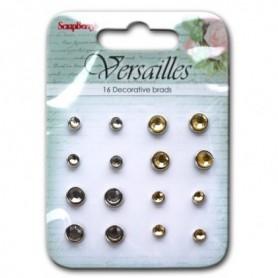 ScrapBerrys Versailles Set of Brads