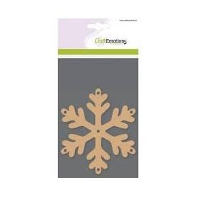 Craft Emotions Basisformen - Schneeflocke - 3Stk