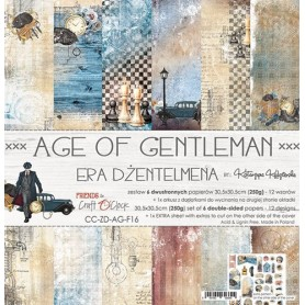 "Paper Collection Set 12""*12"" Age Of Gentleman"