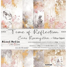 "Paper Collection Set 12""*12"" Time Of Reflection"