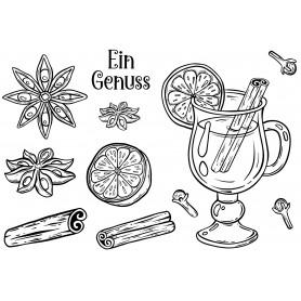 """Memories4you Stempel (A6)  """"Ein Genuss"""""""