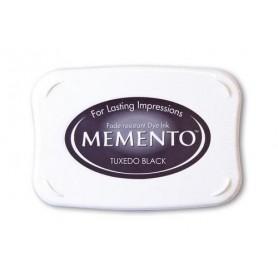Memento Stempelkissen Tuxedo Black
