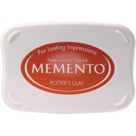Memento Stempelkissen Potter's Clay