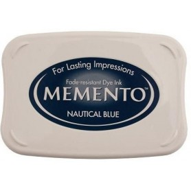 Memento Stempelkissen Nautical Blue