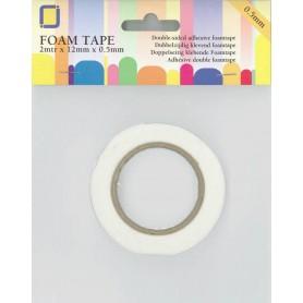 JEJE Produkt Foam Tape 2 m x 12 mm x 0,5 mm