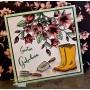 "Memories4you Stempel (A6)  ""Geburtstag Blume"""