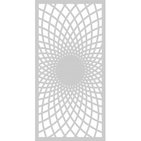 Memories4You Stencil Slimline 10,5 x 21cm Floralcaro
