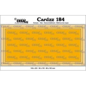 Crealies Cardzz Slimline D stitch 10,0x20,5cm