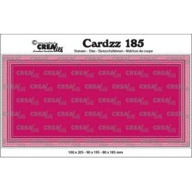 Crealies Cardzz Slimline E Punkte 10,0x20,5cm