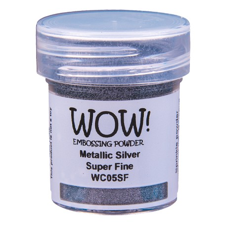 WOW! Embossing Silver 15ml / Super Fine
