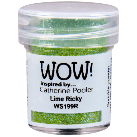 WOW! Embossing Glitters Lime Rickey 15ml / Regular