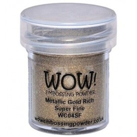 WOW! Embossing Gold Rich 15ml / Super Fine
