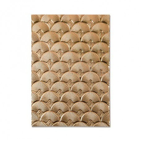 Sizzix 3-D Textured Impressions Embossing Folder - Art Deco Kath Breen