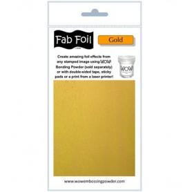 WOW! Fabulous Foil -  Bright Gold Pack 1mtr x 10.1cm