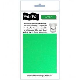 WOW! Fabulous Foil -  Green Pack 1mtr x 10.1cm