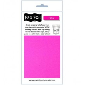 WOW! Fabulous Foil -  Pink Pack 1mtr x 10.1cm