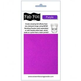 WOW! Fabulous Foil -  Purple Pack 1mtr x 10.1cm