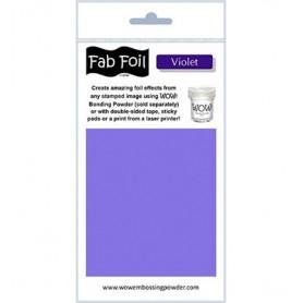 WOW! Fabulous Foil - Violet Pack 1mtr x 10.1cm
