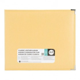 We R Memory Keepers • Faux leather album 30,5x30,5cm Buttercup