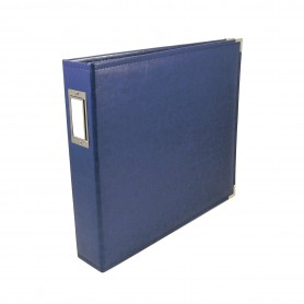 We R Memory Keepers • Faux leather album 30,5x30,5cm Cobalt