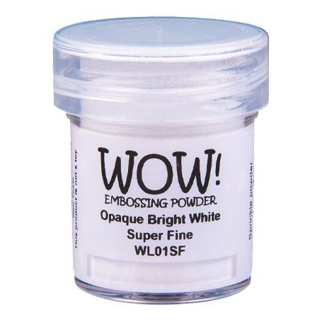WOW! Embossing Bright White 15ml / Super Fine