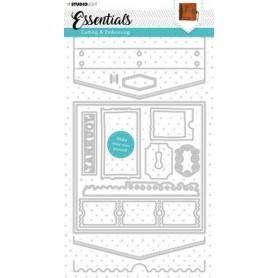 Studio Light Cutting & Emb. Die Journal Essentials nr.383 143x285mm