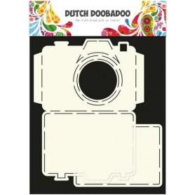DutchDoobadoo Card Art stencil - Kamera A4 11x14,5cm