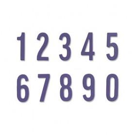 Sizzix Thinlits Die Set - 10PK Bold Numbers