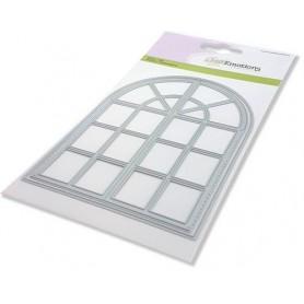 CraftEmotions Die - Bogenfenster Card 10,5x14,8cm 10,2x14,1cm