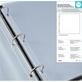 RING PAGE Hüllen 30,5x30,5cm – 50 PACK