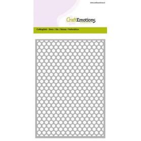 CraftEmotions Die - Cutting Grid - dots rund Card 10,5x14,8cm