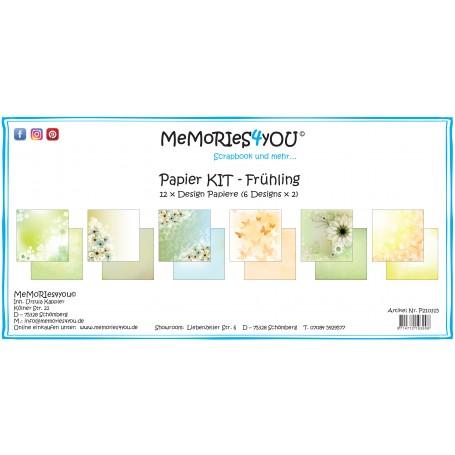 "Memories4you - Papier Kit ""Frühling"""