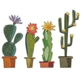 Sizzix Thinlits Die Set - Funky Cactus 9PK Tim Holtz