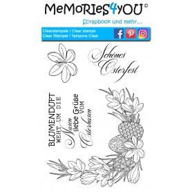 "Memories4you Stempel (A6)  ""Ostern"""
