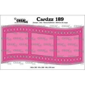 Crealies Cardzz Slimline I Filmsteifen 110x20,5cm