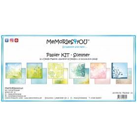 """Memories4you - Papier Kit """"Sommer"""""""