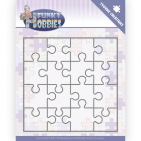 Yvonne Creations Funky Hobbies - Stanzform - PUZZLE