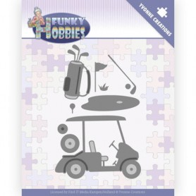 Yvonne Creations Stanzform Funky Hobbies - GOLF